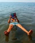 C in the Dead Sea ;)